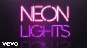 demi lovato neon lights official lyric