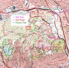 Park City Utah Trail Map by Cartifact Griffith Park Animated Map To The Trails
