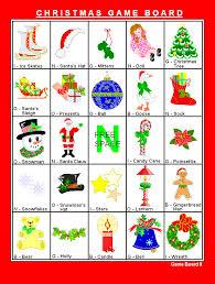 free printable christmas bingo holiday games at kid scraps