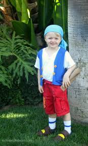diy no sew jake and the never land cubby costume