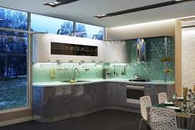 Green Kitchen Design Changing Mood Of Modern Kitchen Design And Decor With Relaxing