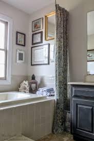 Yellow Damask Shower Curtain Bathroom Decorated With Damask Shower Curtain And Cornice Also