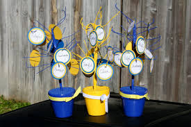 banquet centerpieces nail lindylu designs cub scout blue and gold banquet