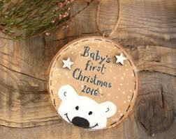 babys ornament personalized newborn gift