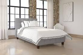 andover mills amherst upholstered platform bed u0026 reviews wayfair