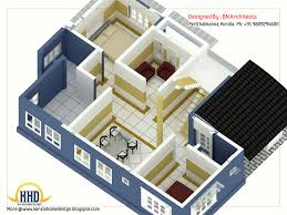 2 Storey House Design With 3d Floor Plan 2492 Sq Feet Kerala House Plan Designs In 3d