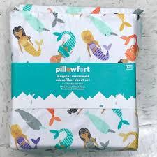pillowfort mermaid sheets with narwhals at target