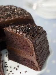 receta de torta húmeda de chocolate decorada recipe chocolate