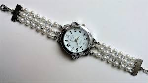 beaded bracelet watches images Learn how to make beaded watch bands jpg