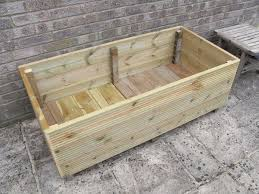 Discount Outdoor Planters by Make A Garden Planter From Decking 7 Steps With Pictures
