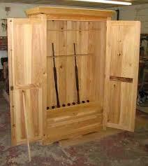 Free Wooden Gun Cabinet Plans 221 Best Gun Cabinet And Secret Storage Images On Pinterest Gun