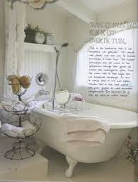 Shabby Chic Bathroom Decor by French Bathroom Advertising Poster And Shy Man Belle