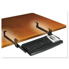 kd90 adjustable under desk keyboard drawer