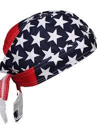 American Flag Beanie Amazon Com American Flag Usa Skull Cap Head Wrap Biker Bandana Do