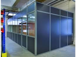 cloison aluminium bureau cloison amovible aluminium contact pro stockage logistique