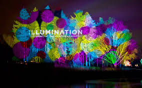 tree lights at the morton arboretum act lighting press clay paky mythos make u s debut at