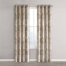 Bathroom Window Curtain by Amazon Com Echo Design Jaipur Window Curtain 50 X 84