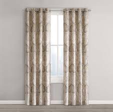 amazon com echo design jaipur window curtain 50 x 84