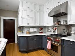 colorful kitchen backsplashes popular two tone color combination for kitchen cabinet kitchen
