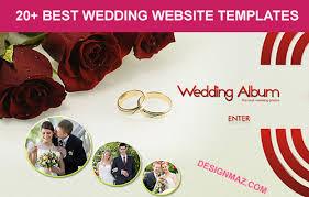 best wedding album website 10 best wedding website templates 2014 designmaz
