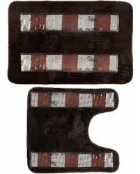 Bathroom Rug Sets On Sale Find The Best Summer Savings On N Elegant Bathroom Rug Set Bronze