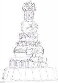 wedding cake drawing wedding cake wedding cake pencil drawing pencil and in