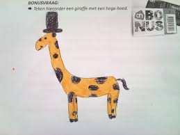Giraffe Hat Meme - i asked my high school pupils to draw me a top hat giraffe album