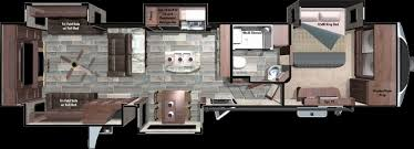durango 5th wheel floor plans fifth wheel floor plans elegant kz durango 1500 fifth wheel