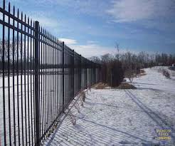 steel fencing michigan fence outlet