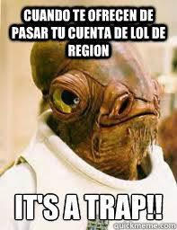 Meme Alejandro Garcia Padilla - its a trap memes quickmeme