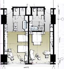 plan chambre d hotel hotel plan construction sché plan suite parentale