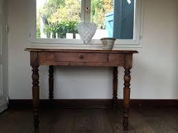 bureau ancien en bois petit bureau ancien bureau console e table petit bureau ancien bois