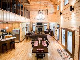 luxury open floor plans treasured times luxury cabin open floor plan 3br 2 1 2 bth loft
