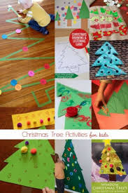 christmas tree crafts u0026 activities for kids