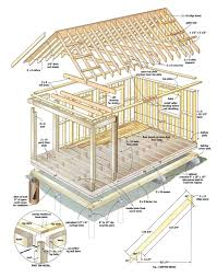 House Plans With Cost To Build by Diy Build This Cabin For Under 4 000 U2013 Realfarmacy Com