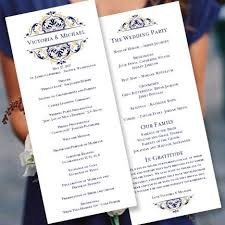 template for wedding ceremony program the 25 best wedding ceremony program template ideas on