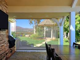 Outdoor Patio Pull Down Shades Outdoor Curtains Drapes And Shades Superior Awning