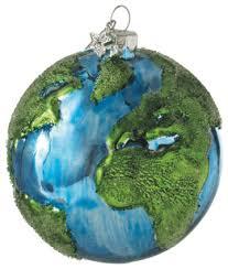 earth tree ornament contemporary ornaments