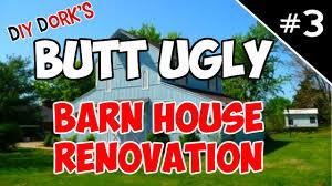 Metal Siding For Barns Barn House Renovation New Doors U0026 Metal Siding Youtube