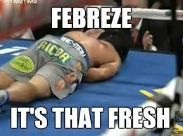 Febreze Meme - febreze it s that fresh pacquiao quickmeme