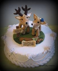 buck and doe cake topper buck wedding cake xeniapolska