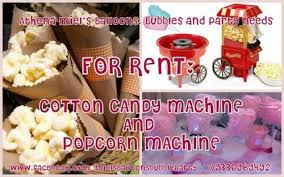rent popcorn machine rent cotton candy machine and popcorn machine