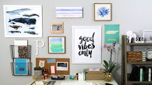 How To Hang A Canvas How To Hang A Gallery Wall Youtube