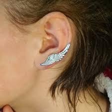 ear cuffs ireland angel wings ear cuff silver jewelry gold gift wings