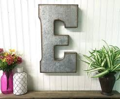 metal letters wall decor wall metal letter galvanized large metal wall letters large metal letter galvanized metal wall by