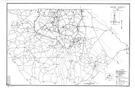 Nc Counties Map Gates County Maps