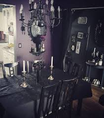 gothic rooms britt creepyghoulie on instagram my wee dining room crypt