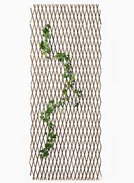 expanding trellis fencing expanding natural willow trellis garden supplies vines climbing plants