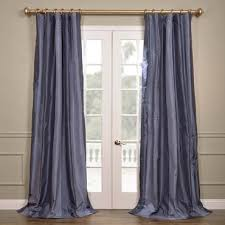 silk striped curtains and drapes half price drapes