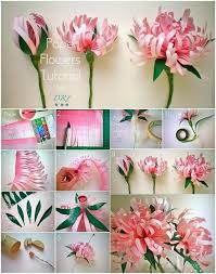 Paper Flower Best 25 Paper Flower Tutorial Ideas On Pinterest Paper Flowers